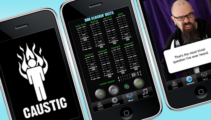 Caustic iPhone App